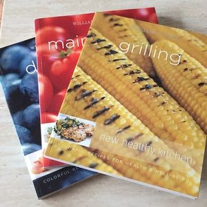 3 Williams-Sonoma new healthy kitchen cookbooks